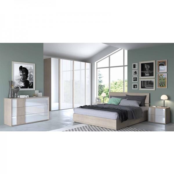 Offerta cucina white parete attrezzata nice 1 camera da for Offerta camera letto
