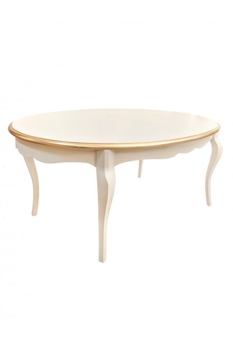 Tavolo ovale avorio for Tavolo ovale ufficio