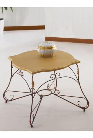 Tavolino in ferro battuto