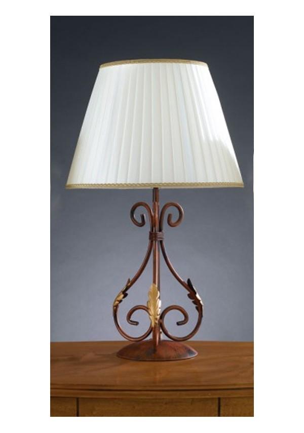 Lampada grande in ferro battuto R.04021