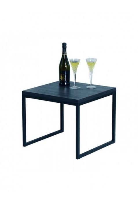 Tavolino quadrato basso in ferro DM.01001