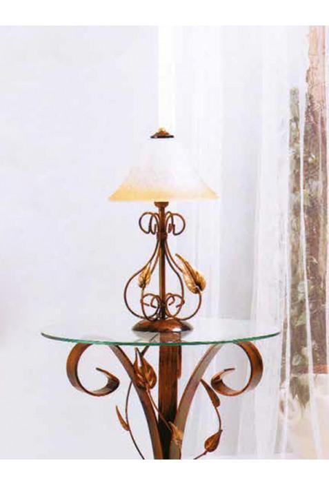 Lampada piccola in ferro battuto R.03313