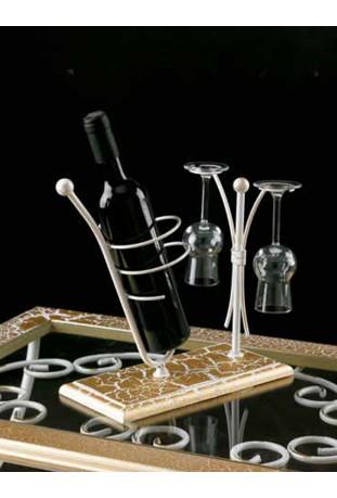 Porta Bottiglia e bicchieri R.01243
