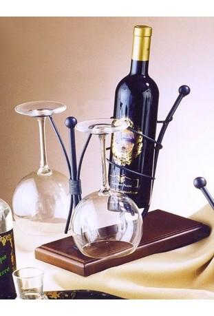 Porta Bottiglia e calici R.0904