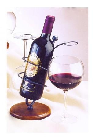 Porta Bottiglia e bicchieri R.0905