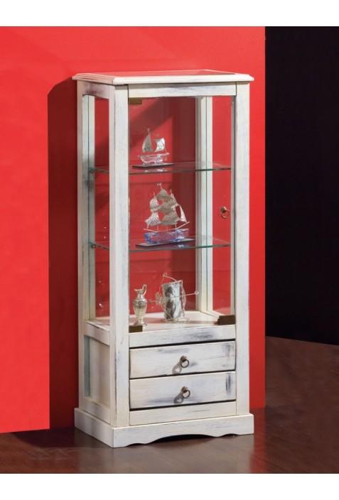Vetrinetta 1 anta con cassetti R.01248