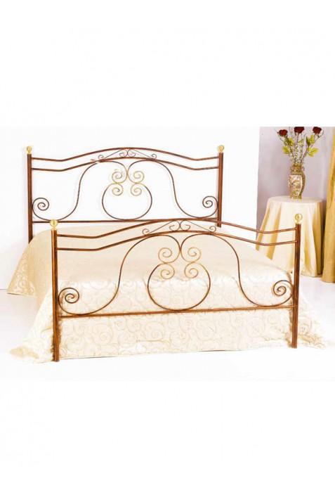 barocco letto ferro battuto