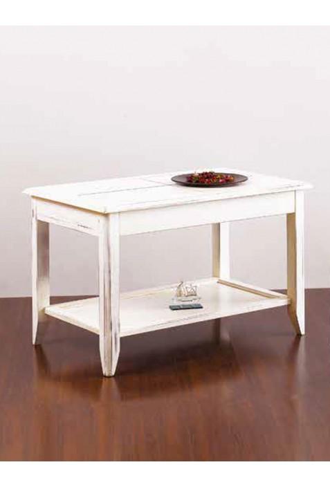 Tavolino Per Salotto Legno.Tavolino Da Salotto In Legno Massello R 01257