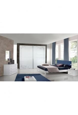 Glamour Camera da letto moderna con glitter