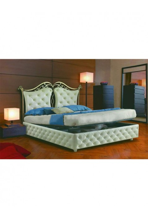 Letto in Ecopelle Imperiale