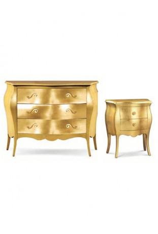 Gruppo Bombato foglia oro
