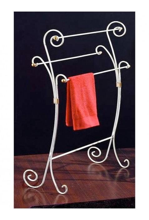 Portasalviette In Ferro Battuto.Porta Asciugamani In Ferro Battuto R 01225