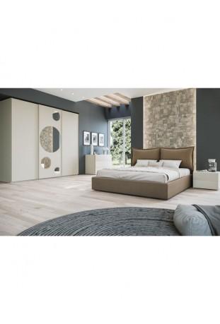 Biblos Camera da letto larice pino