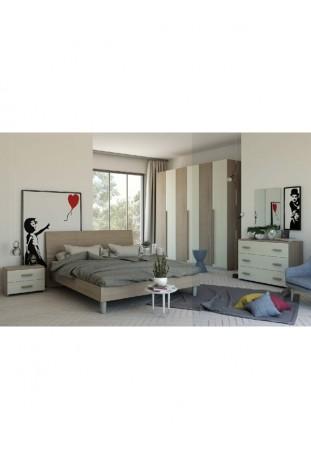 Macarena Camera da letto olmo/frassino bianco