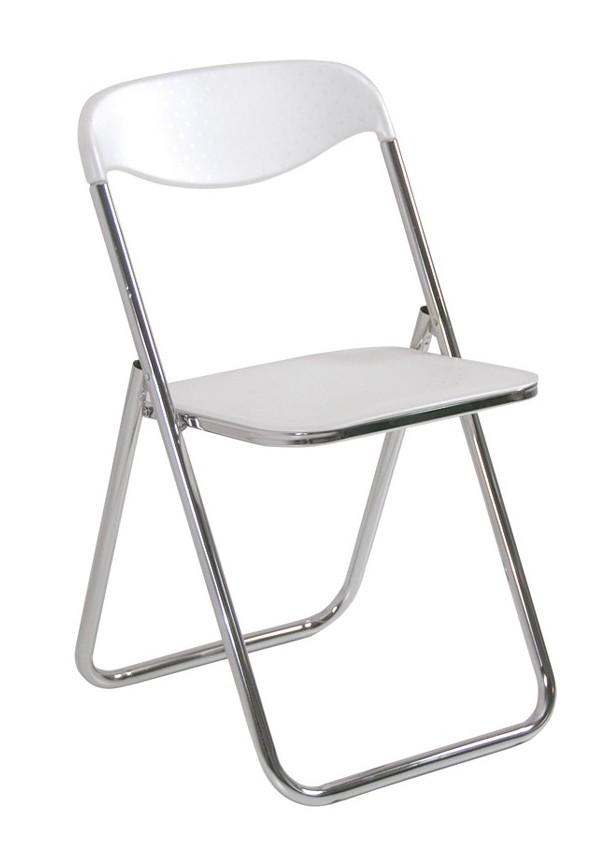 Sedute In Plastica Per Sedie.Sedia Gamma Cromo E Seduta Schienale In Plastica