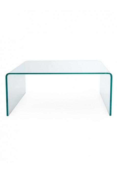 Tavolino Ponte Vetro.Tavolino Bridge A Ponte Con Struttura In Vetro Curvato