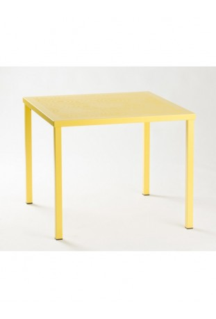 Tavolo quadrato ORIGIN 80 Medes Metal Design