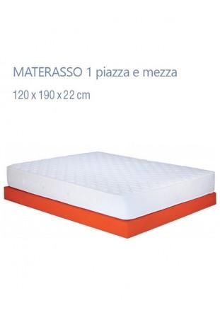Materasso 1 piazza e mezza mod. Capri