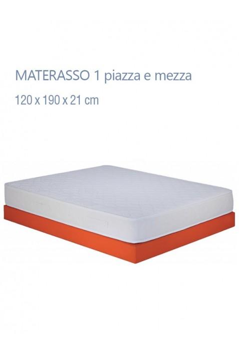Prezzi Materassi 1 Piazza E Mezza.Materasso 1 Piazza E Mezza Modello Procida