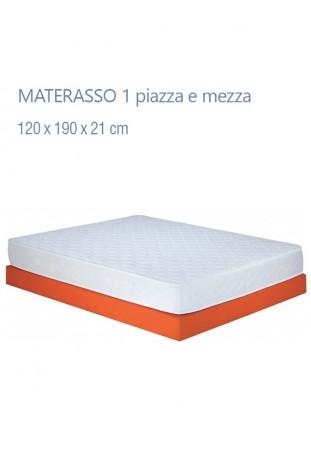 Materasso 1 piazza e mezza mod. Prousso