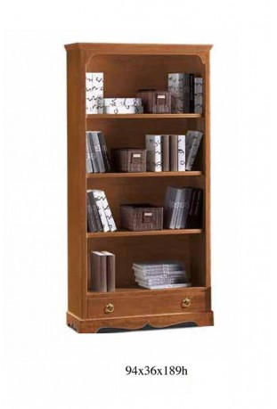 Libreria con cassetto