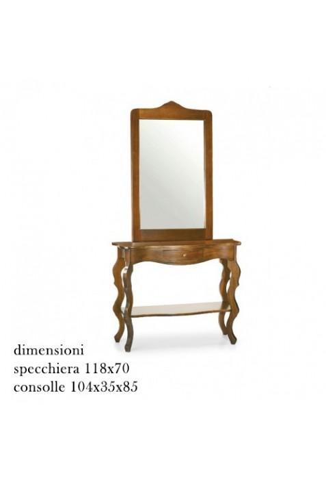 Consolle con specchio 259 - 260