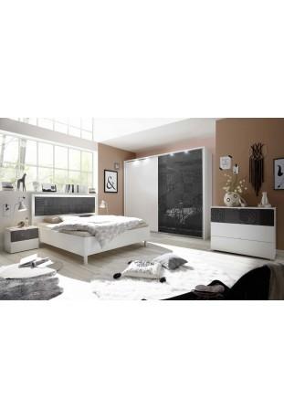 Camera da letto Mykonos Grigio