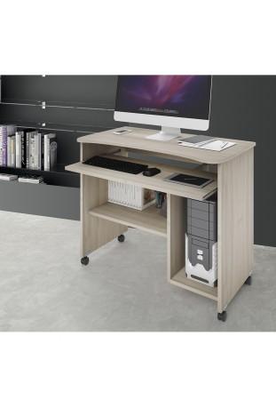 Scrivania Porta Computer / PC con ruote girevoli